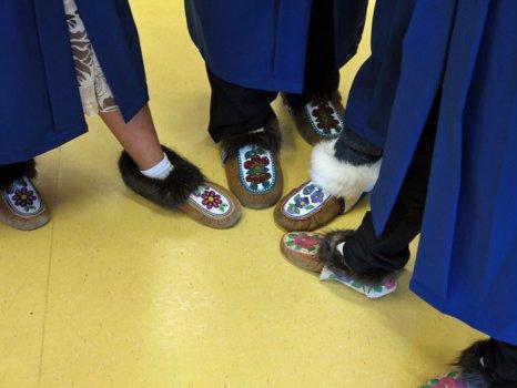 First high school graduates from Jean Wetrade Gamètì School celebrated Wednesday, June 26, 2013